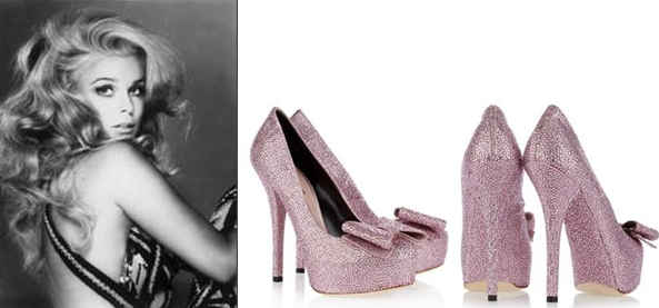 Lessons for pretty girls fashioning (4): fashion style starts from hair! Then...heels!