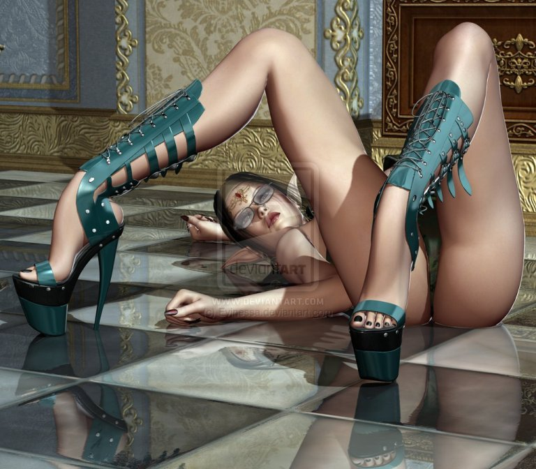 Sexy Fantasy in high heels...do like this!!!